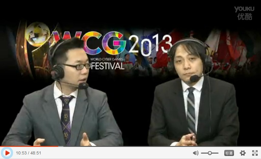 台湾WCG2013 英雄联盟Day1 AZB TPA vs yoe.FW