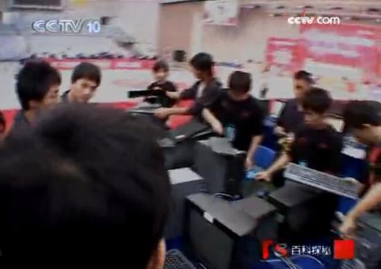 当时比赛使用的电脑